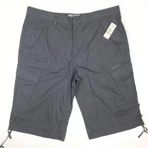 Ecko Traveler Long Ripstop Cargo Shorts Gray  48